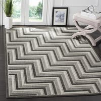 Safavieh Cottage Dark Grey / Light Grey Area Rug (6'7 Square)