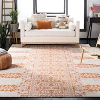 Safavieh Evoke Vintage Ivory / Gold Distressed Rug (6'7 Square)