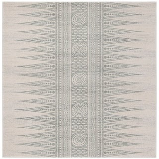Safavieh Evoke Vintage Boho Chic Ivory / Turquoise Distressed Runner (2'2 x 7')
