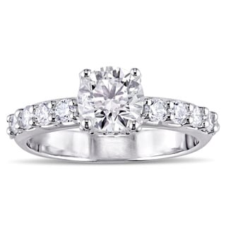 Miadora Signature Collection 18k White Gold 1 3/4ct TDW Diamond Engagement Ring