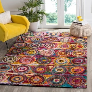 Safavieh Fiesta Shag Rolanda Abstract Rug