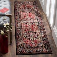 "Safavieh Vintage Hamadan Traditional Red/ Multi Distressed Area Rug Runner - 2'3"" x 10'"