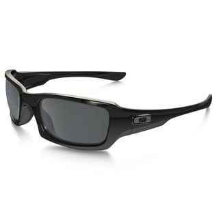 oakley sunglasses clearance discount  oakley fives squared oo9238 men's black polarized rectangular sunglasses