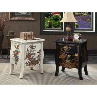 Convenience Concepts Touch of Asia 3 Drawer End Table