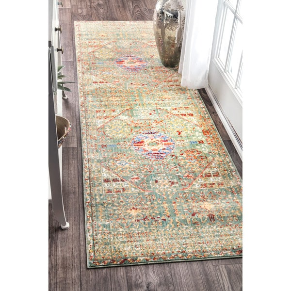 Shop Nuloom Vintage Persian Inspired Faded Medallion