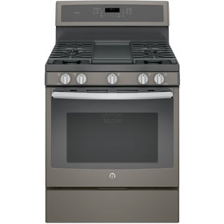 GE Profile Series 30-inch Free-Standing Gas Convection Range