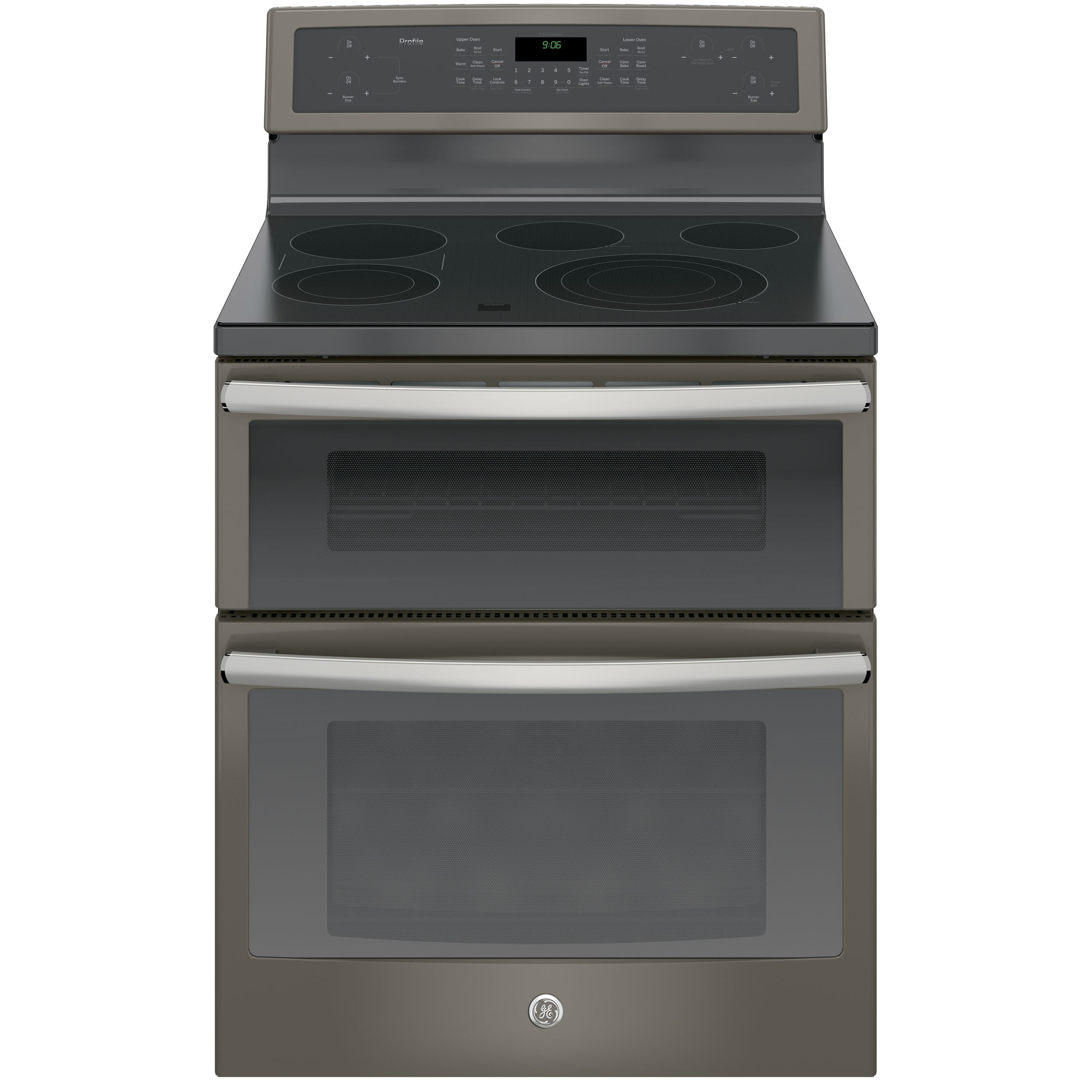 GE Profile Series 30-inch Free Standing Electric Double O...
