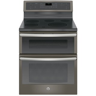 GE Profile Series 30-inch Free Standing Electric Double Oven Convection Range