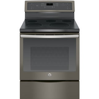 GE Profile Series 30-inch Free-Standing Electric Convection Range