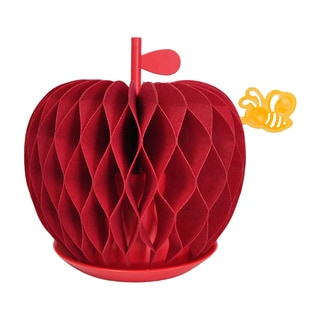 Nanum Red Felt Apple Non-Electric Personal Humidifier