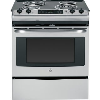 GE 30-inch Slide-In Front Control Electric Range