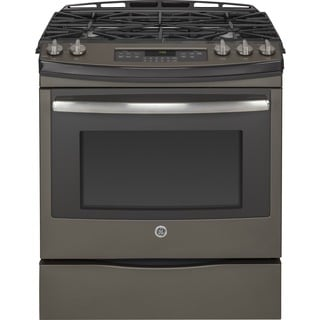 GE 30-inch Slide-in Front Control Gas Range