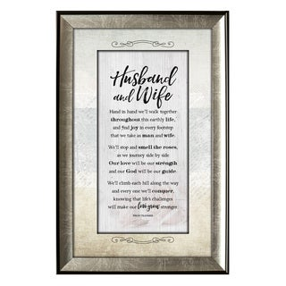 Husband and Wife Soulful Journey Framed Wall Art