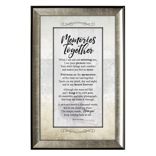 'Memories Together' Soulful Journey Collection Framed Wall Art