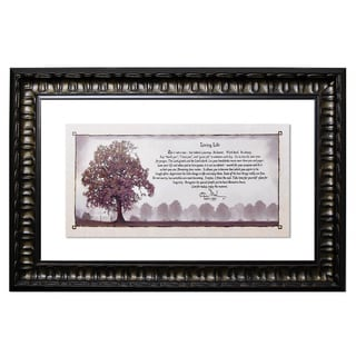 Living Life Framed Wall Art