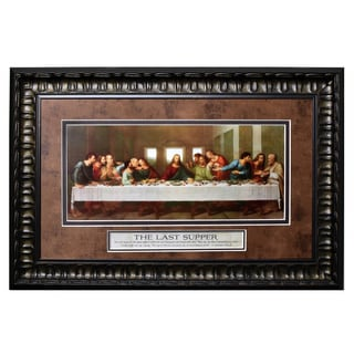 James Lawrence 'Last Supper' Framed Wall Art