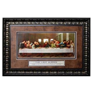 James Lawrence 'Last Supper' Framed Wall Art|https://ak1.ostkcdn.com/images/products/14249847/P20838632.jpg?impolicy=medium