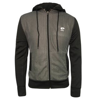 Lotto Men's Textured Fleece Hoodie