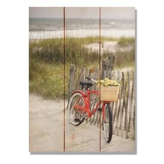 Special Delivery 11x15 Indoor/Outdoor Full Color Cedar Wall Art