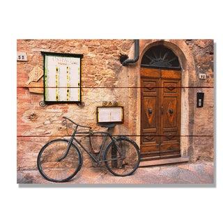 Italian Osteria 11x15 Indoor/Outdoor Full Color Cedar Wall Art