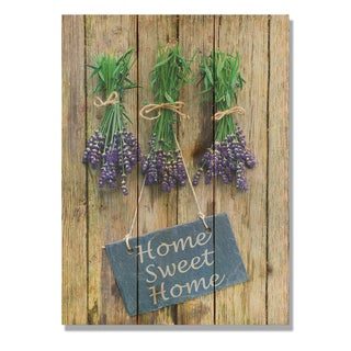 Sweet Home 11x15 Indoor/Outdoor Full Color Cedar Wall Art