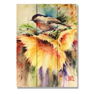 Sunny Day 11x15 Indoor/Outdoor Full Color Cedar Wall Art