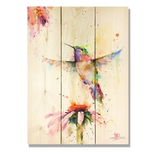 Pee Wee 11x15 Indoor/Outdoor Full Color Cedar Wall Art
