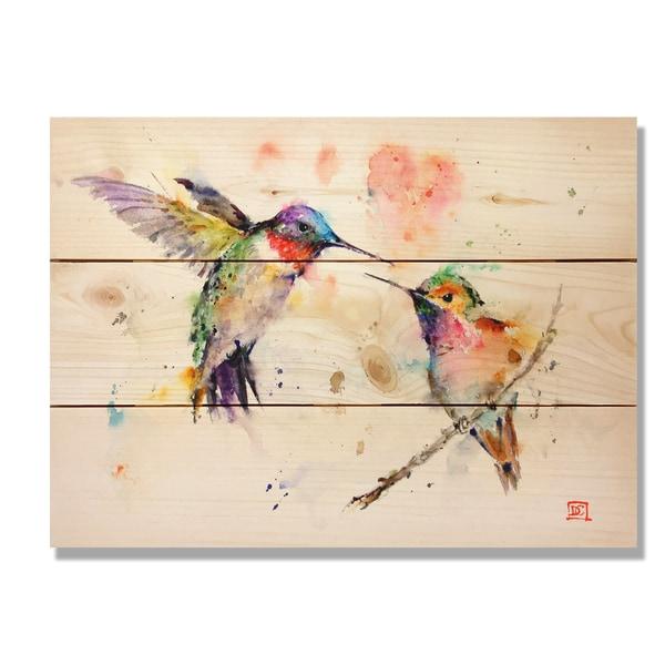 Love Birds 11x15 Indoor/Outdoor Full Color Wall Art