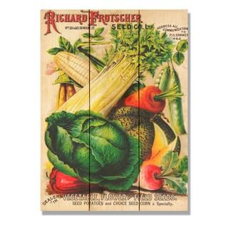 Richard Frotscher Seed Co 11x15 Indoor/Outdoor Full Color Cedar Wall Art
