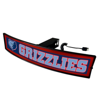 Fanmats NBA Memphis Grizzlies Light-up Hitch Cover