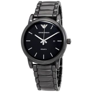 Emporio Armani Men's AR1508 Black Ceramic Watch