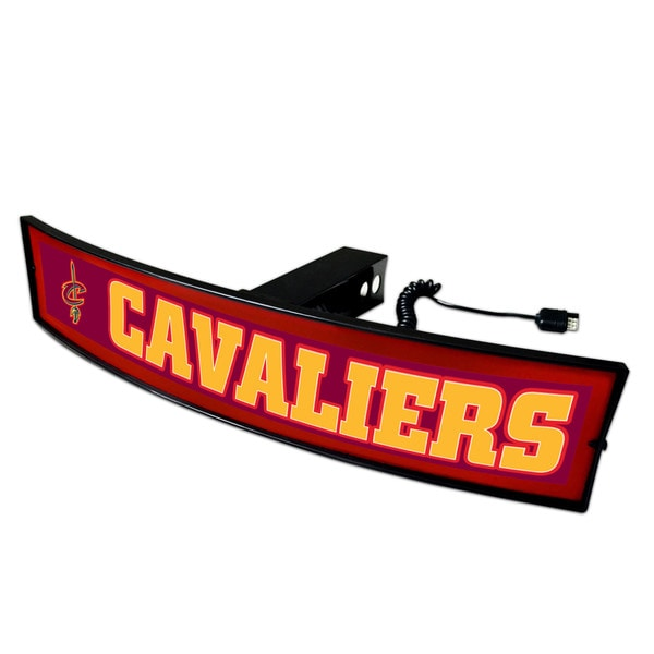 Fanmats NBA 'Cleveland Cavaliers' Plastic Light-up Hitch Cover