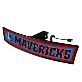 Fanmats NBA Dallas Mavericks Light-up Hitch Cover