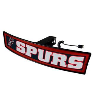 Fanmats NBA 'San Antonio Spurs' Plastic Light-up Hitch Cover
