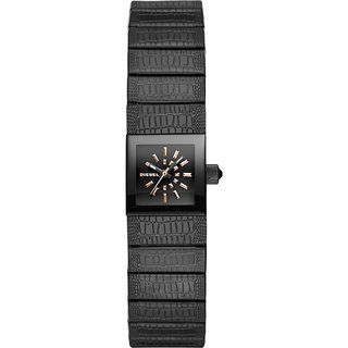 Diesel Women's DZ5483 'Ruki' Black Leather Watch