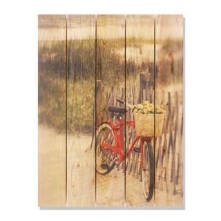 Special Delivery 28x36 Indoor/Outdoor Full Color Cedar Wall Art