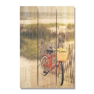Special Delivery 16x24 Indoor/Outdoor Full Color Cedar Wall Art