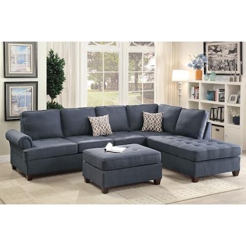 Mannie 2-PCs Sectional Sofa Set