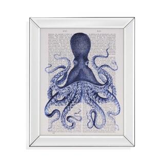 Bassett Mirror Blue Octopus 3