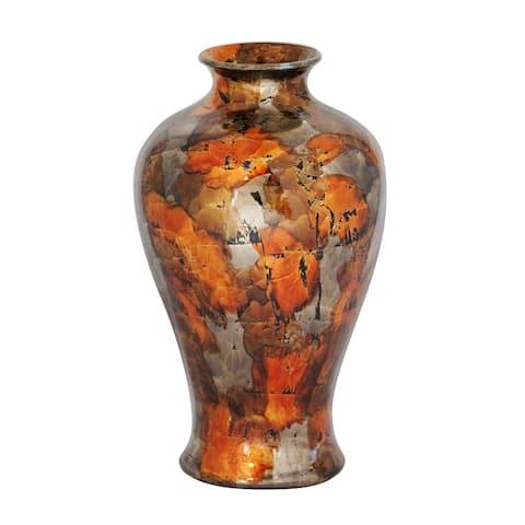 Bold Multicolor Amphora Jar Vase