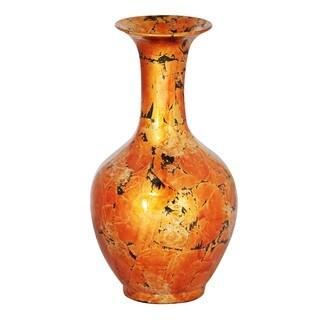 Copper Long Neck Trumpet Decantor Vase