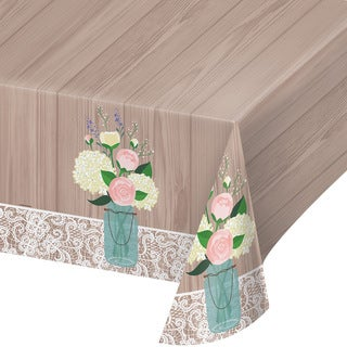 Rustic Wedding Table Cover (Pack of 6)