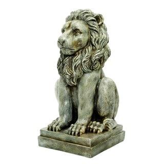24-inch Tan Lion Statue