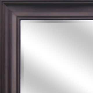 Reflection Oil Rubbed Bronze Frame 44 x 60 Beveled Wall Mirror