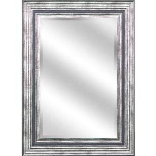 Reflection Odessa Silver Large Beveled Mirror