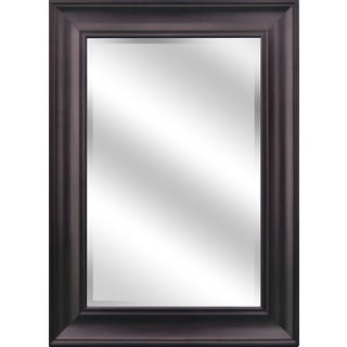 Reflection Beveled Mirror with a 5-inch Oil-rubbed Bronze Frame