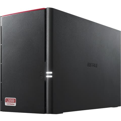 Buffalo LinkStation 520 2TB Personal Cloud Storage with Hard Drives Included