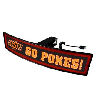 Fanmats Oklahoma State Go Pokes! Light-up Acrylic Hitch Cover
