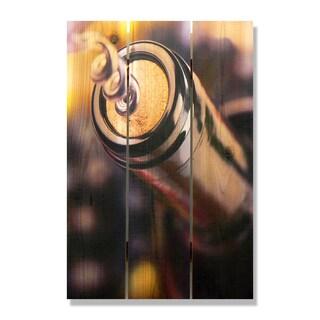 Un Wind 16x24 Indoor/Outdoor Full Color Cedar Wall Art