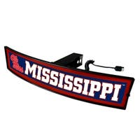 Fanmats Mississippi Ole Miss Acrylic Light-up Hitch Cover